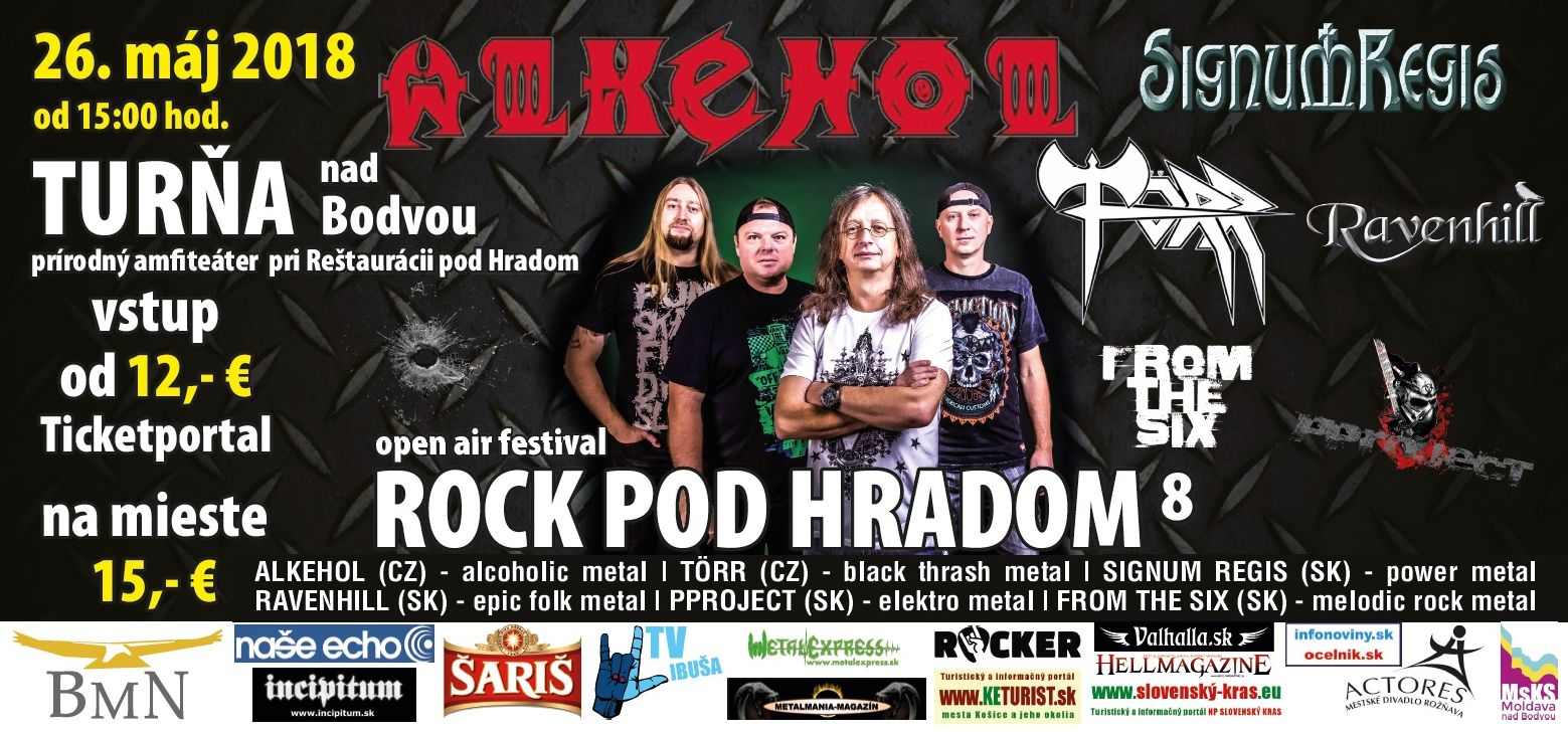 Törr - ROCK POD HRADOM 2018 - ROCK POD HRADOM 2018 78643f051d